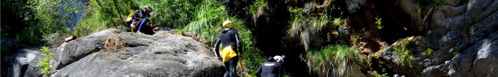 canyoning avventura