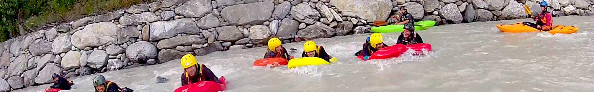 hydrospeed valle d'aosta