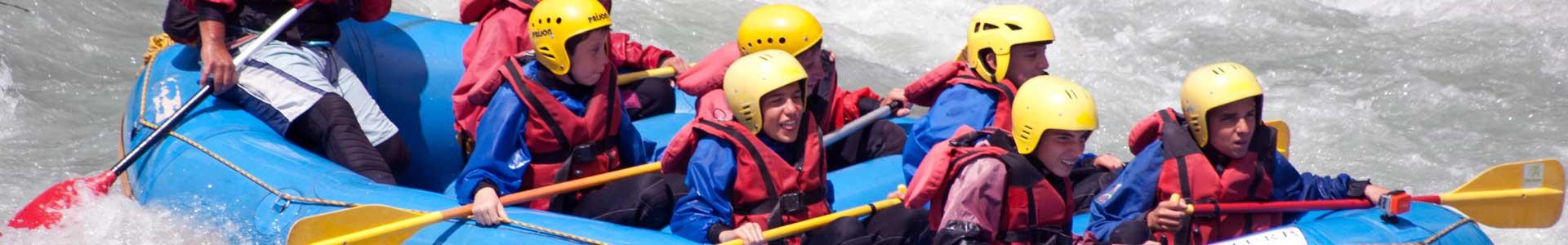 rafting bambini