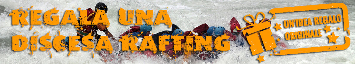 regalo voucher rafting